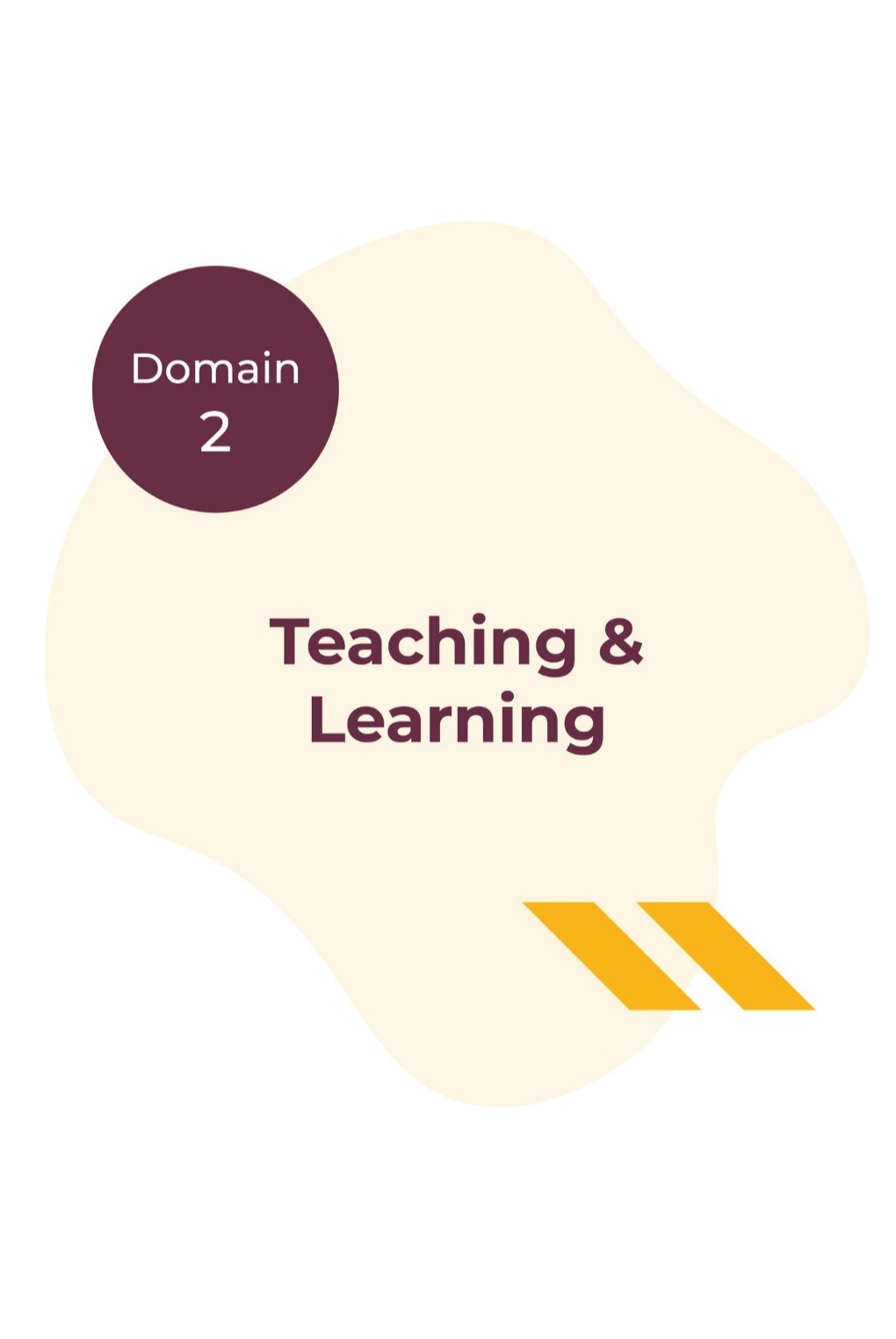 Domain 2 - Teaching and Learning